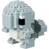 【日本KAWADA河田】Nanoblock迷你積木-神奇寶貝/寶可夢 傑尼龜藍版 NBPM-017