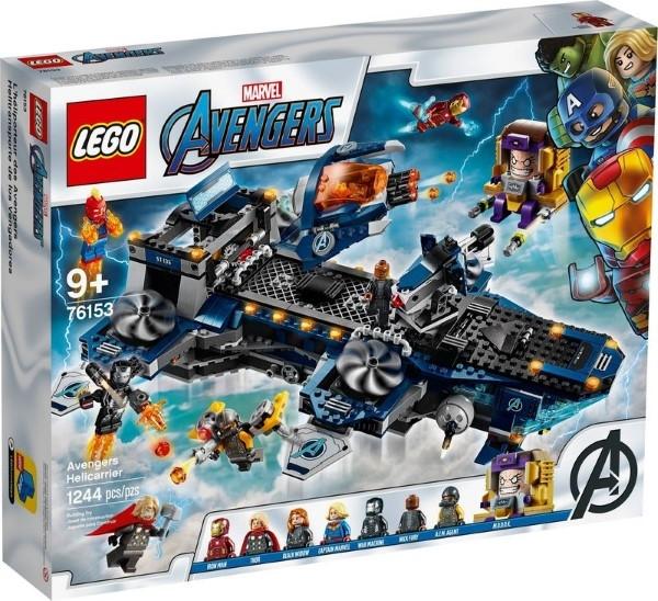 樂高LEGO SUPER HEROS 復仇者 空天母艦 Avengers Helicarrier 76153 TOYeGO 玩具e哥