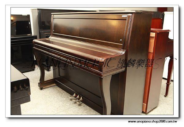 【HLIN漢麟樂器】-日本原裝kawai河合123號直立式中古二手鋼琴-原木-亮黑-豪華42