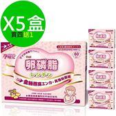孕哺兒 卵磷脂燕窩多機能細末 4公克x60包/盒 買4送1共5盒 ◤限時55折◢