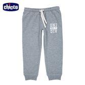 chicco-To Be-束口長褲-英文字母-灰
