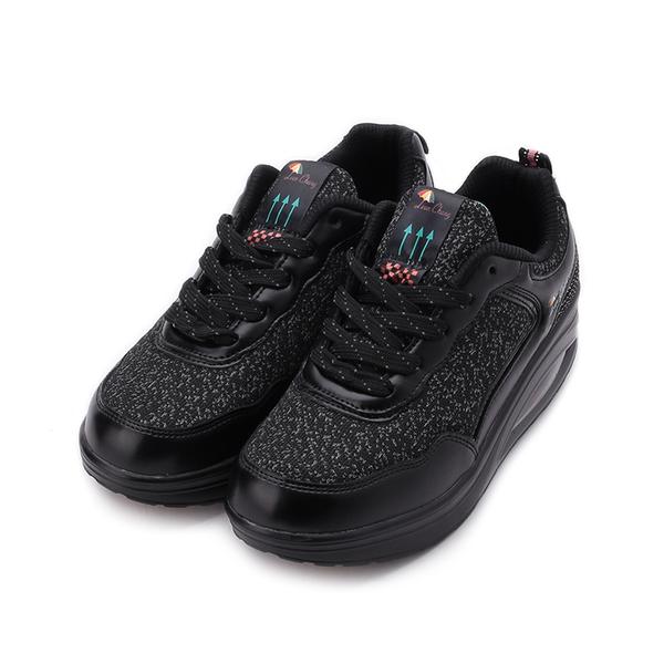 LEON CHANG 雨傘牌 潮流撞色氣墊運動鞋 黑 LDL7724 女鞋