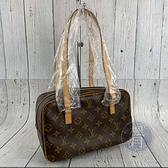 BRAND楓月 LOUIS VUITTON LV M51182 經典 原花 吐司包 長方形 肩背包 手提包
