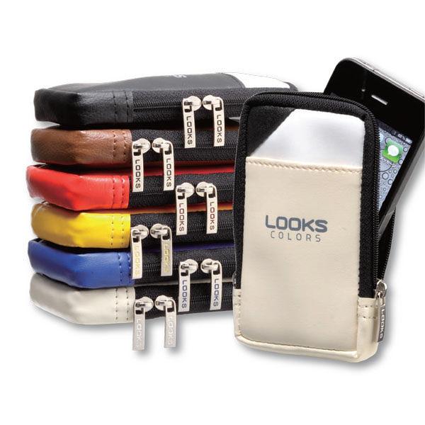 日本HOTTA 公司 設計製造 LOOKS 手機袋 手機包 (適用4.3吋以下螢幕手機)