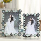 奢華歐式相框擺臺5六7寸十10寸相架掛墻組合婚紗相片框可加洗照片