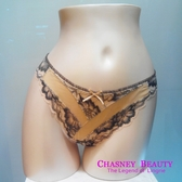 Chasney Beauty-Coral珊瑚花S丁褲(深咖)