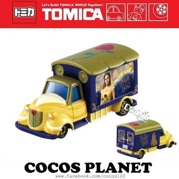 TOMICA 多美小汽車 美女與野獸 宣傳車 貨櫃車 貨車 迪士尼夢幻小汽車 小車 COCOS TO175