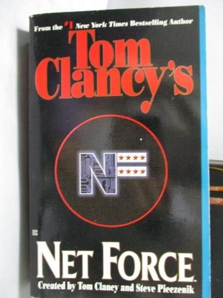 【書寶二手書T8/原文小說_ORE】Tom Clancy s Net Force