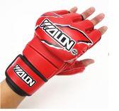 成人專業拳擊手套 散打泰拳半指分指搏擊專業沙袋訓練拳套   潮流前線