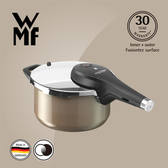 【WMF】Fusiontec 快力鍋 4.5L(閃耀棕 棕銅色)