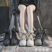馬丁靴女秋季新款韓版百搭厚底短靴網紅英倫風透氣高幫潮鞋夏 聖誕節全館免運
