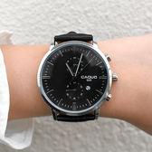 【 妳手很空 】雙眼日期造型手錶[W275]