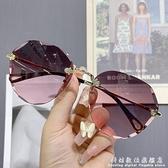 時尚太陽鏡女2020年新款小臉太陽鏡女士防紫外線大臉顯瘦墨鏡女 中秋特惠