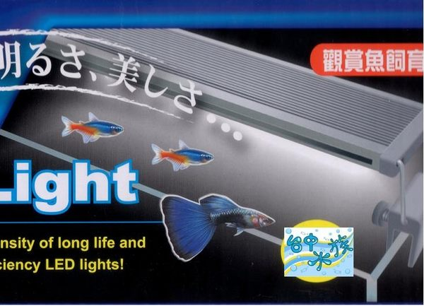 {台中水族}  觀賞魚專用--水草 超亮LED 跨燈-2尺 特價 淡海水兩用