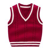 學院風V領針織背心 毛線背心 毛衣 針織 外搭 橘魔法Baby magic 現貨 兒童 童裝 男童 針織毛衣