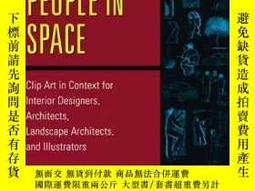 二手書博民逛書店Positioning罕見People in Space: Cl