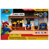 《 任天堂 》超級瑪利歐 2.5吋地牢豪華組 / JOYBUS玩具百貨