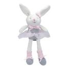 美國 Elegant Baby 童趣針織娃娃玩偶 (小) - 愛跳舞的小兔子