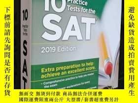 二手書博民逛書店10practice罕見Tests for the SAT (2