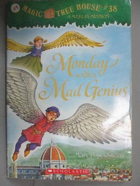 【書寶二手書T1/原文小說_NMU】Monday with a Mad Genius_Mary Pope Osborne