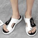 夾腳拖鞋 夏季潮流拖鞋男外穿潮流韓版個性百搭男士時尚人字拖室外夾板涼拖