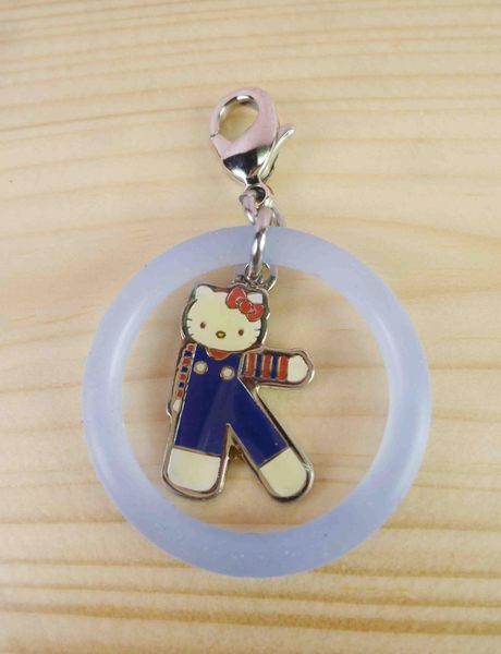 【震撼精品百貨】Hello Kitty 凱蒂貓~KITTY吊飾拉扣-英文字母K