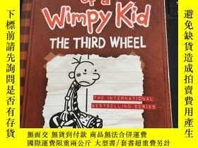 二手書博民逛書店diark罕見of a wimpy kid the third