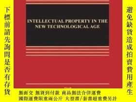 二手書博民逛書店Intellectual罕見Property In The New Technological Age, Sixt