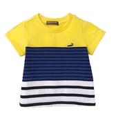 『小鱷魚童裝』撞色條紋T恤(02號~02號)533499