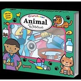 【拼圖遊戲盒】LETS PRETEND:  ANIMAL RESCUE
