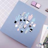 相冊 12寸相冊手工創意覆膜相冊影集情侶浪漫拍立得創意情侶紀念冊 ys4989『毛菇小象』