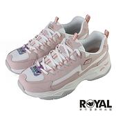 Skechers D lites4.0 粉色 網布 休閒運動鞋 女款NO.J0695【新竹皇家 149491ROS】