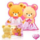一定要幸福哦~~英國貝爾-熊熊抗菌皂50g-西式新人款100個, 婚禮小物,送客禮,姐妹禮