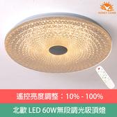 HONEY COMB 晶爍LED 60W調光吸頂燈 TA2014