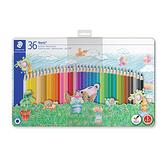 施德樓 MS145 SPM36 快樂學園油性色鉛筆36色組