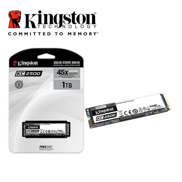 金士頓 Kingston KC2500 1TB NVMe PCIe M.2 2280 5年保固 SSD 固態硬碟
