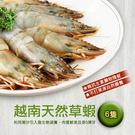 【屏聚美食】鮮美大草蝦(6尾/400g)