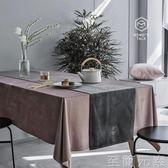北歐ins風原創設計簡約星球燙金絲絨桌旗台布阿莫玲 至簡元素
