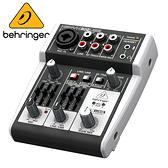 BEHRINGER 302USB 專業級小型混音器(具XENYX麥克風前置放大器)