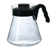 金時代書香咖啡  HARIO V60好握03黑色咖啡壺 1000ml VCS-03B