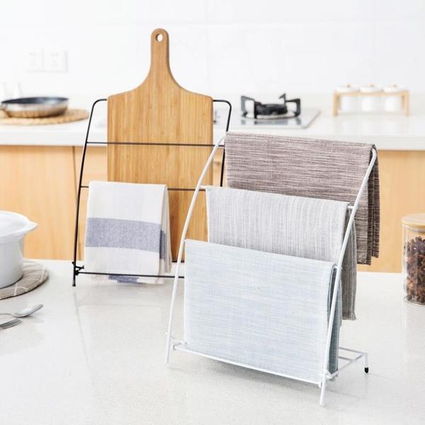 [超豐國際]廚房桌面抹布架掛毛巾架 免打孔浴室洗漱臺毛巾掛架置物