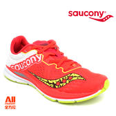 【Saucony】女款慢跑鞋 FASTWITCH 輕量競速 -螢光橘 (190321) 全方位跑步概念館
