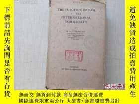 二手書博民逛書店1933年原版外文精裝毛邊本罕見THE FUNCTION OF