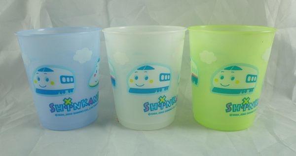 【震撼精品百貨】Shin Kan Sen 新幹線~3入塑膠杯