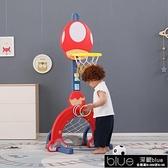 兒童籃球架 兒童籃球架可升降室內寶寶家用1-2-3-6周歲男孩玩具球框投籃架子