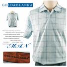 【大盤大】GOLD&BLANKA L號 男 夏 短袖 POLO衫 170/92A 透氣 88 反領 休閒衫 格紋 棉衫