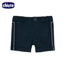 chicco-小熊船長-細菱格反折短褲