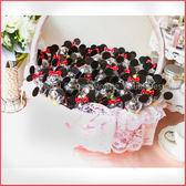 米奇米妮米果巧克力糖棒X100支+大提籃X1個-情人節聖誕節 生日分享 餐廳民宿活動禮贈品