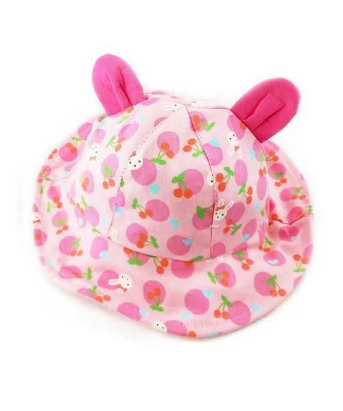 ★ 正韓!  兔兔輕便遮陽帽 (兩色) ★