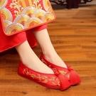 新款秀禾鞋新娘婚鞋女